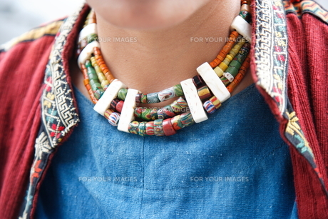 台湾原住民の衣装の写真素材 [FYI00283659]