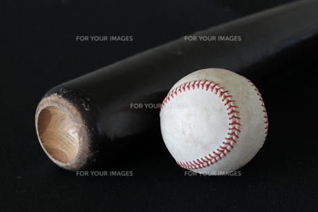 バットとボールの写真素材 [FYI00283722]