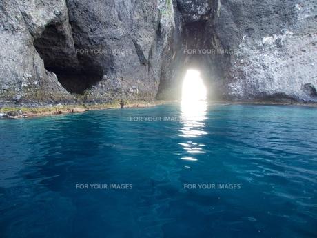 青の洞窟の中の写真素材 [FYI00284203]