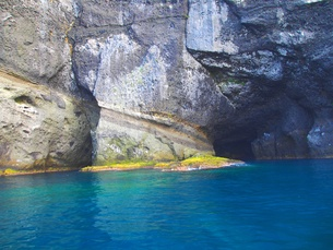 青の洞窟の写真素材 [FYI00284216]