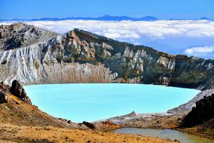 白根山と雲海の写真素材 [FYI00284314]