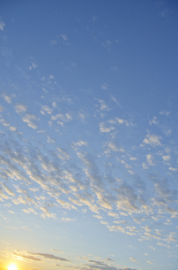 青空と太陽の写真素材 [FYI00284324]