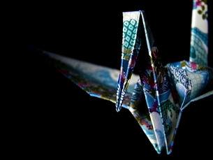 折鶴の写真素材 [FYI00284410]
