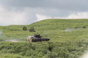自衛隊総合火力演習 戦車の写真素材 [FYI00284456]