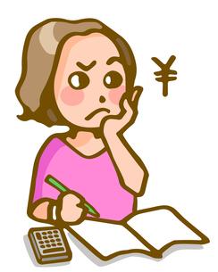 主婦の家計管理の写真素材 [FYI00284516]