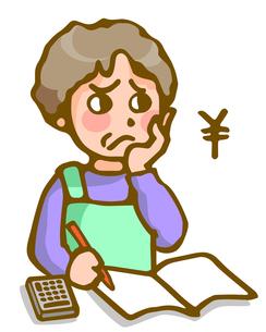 主婦の家計管理の写真素材 [FYI00284523]