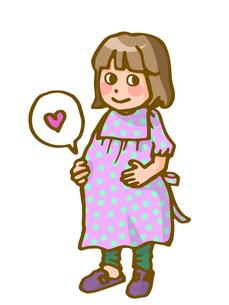 かわいい妊婦の写真素材 [FYI00284535]