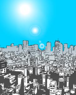 ビルの風景(快晴)の写真素材 [FYI00284537]