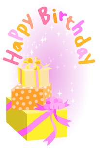 Happy Birthdayの写真素材 [FYI00284544]