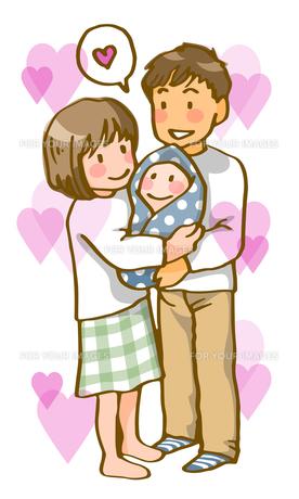若い夫婦(ハートフル)の写真素材 [FYI00284615]
