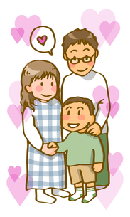 若い夫婦(ハートフル)の写真素材 [FYI00284616]