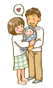 若い夫婦(シンプル)の写真素材 [FYI00284622]