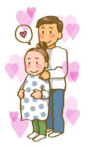 若い夫婦(ハートフル)の写真素材 [FYI00284624]