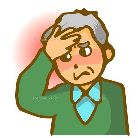 発熱と頭痛の写真素材 [FYI00284666]