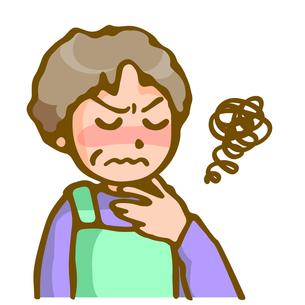 喉の痛みの写真素材 [FYI00284693]