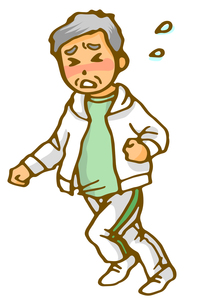 お父さんジョギングの写真素材 [FYI00284735]