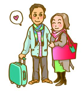 夫婦旅行の写真素材 [FYI00284748]