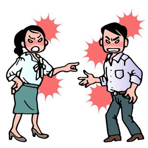 夫婦喧嘩の写真素材 [FYI00284783]