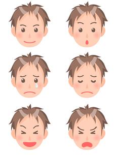 男性の顔の素材 [FYI00284818]