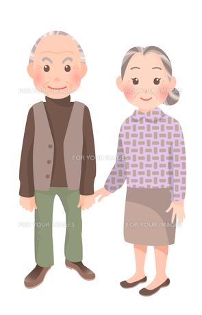 老夫婦の素材 [FYI00284823]