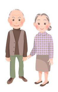 老夫婦の写真素材 [FYI00284823]