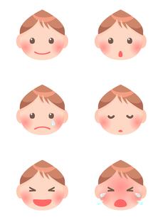 赤ちゃんの顔の写真素材 [FYI00284825]