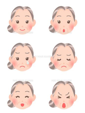 女性の顔の素材 [FYI00284827]