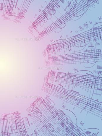 楽譜の写真素材 [FYI00284828]