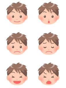 男の子の顔の素材 [FYI00284831]
