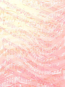 楽譜の素材 [FYI00284835]