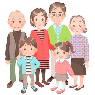 家族の写真素材 [FYI00284836]