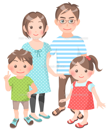 家族の写真素材 [FYI00284855]