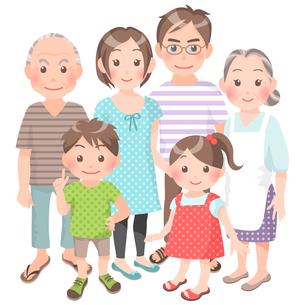 家族の写真素材 [FYI00284860]
