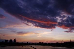 妖雲。の写真素材 [FYI00285024]