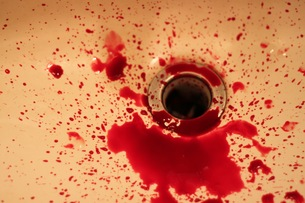鮮血の写真素材 [FYI00285066]