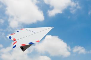 紙飛行機の写真素材 [FYI00285213]