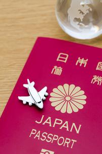 パスポートの写真素材 [FYI00285259]