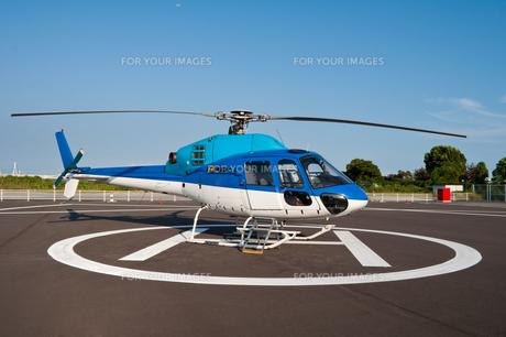ヘリコプターの写真素材 [FYI00285276]