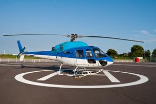 ヘリコプターの素材 [FYI00285276]