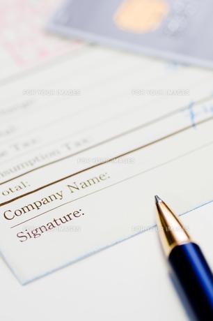 サインの写真素材 [FYI00285288]