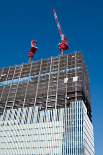 建設中のオフィスビルの写真素材 [FYI00285316]