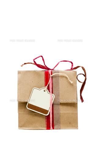 紙袋とタグの写真素材 [FYI00285336]