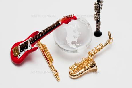 音楽の世界の写真素材 [FYI00285381]