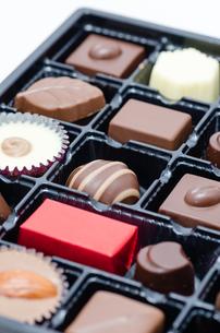 チョコレートの詰め合わせの写真素材 [FYI00285386]