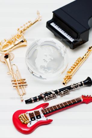 楽器の写真素材 [FYI00285389]