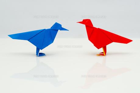 折り紙の小鳥の素材 [FYI00285444]