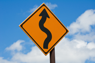 交通標識の写真素材 [FYI00285451]