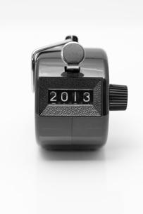 カウンター 2013の写真素材 [FYI00285474]