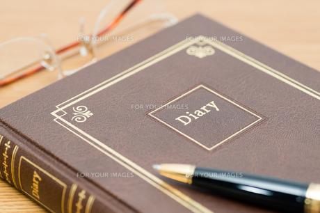 日記帳の素材 [FYI00285495]