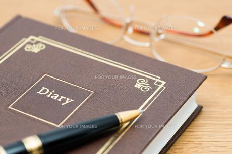 日記帳の素材 [FYI00285515]